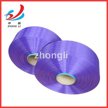 POLYESTER YARN POY DOPE DYED COLOR ZHONGLI CHEMICAL