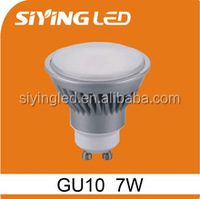 gu10 6w 7w 560lm ra>80 warm white cool white indoor spotlight led lighting