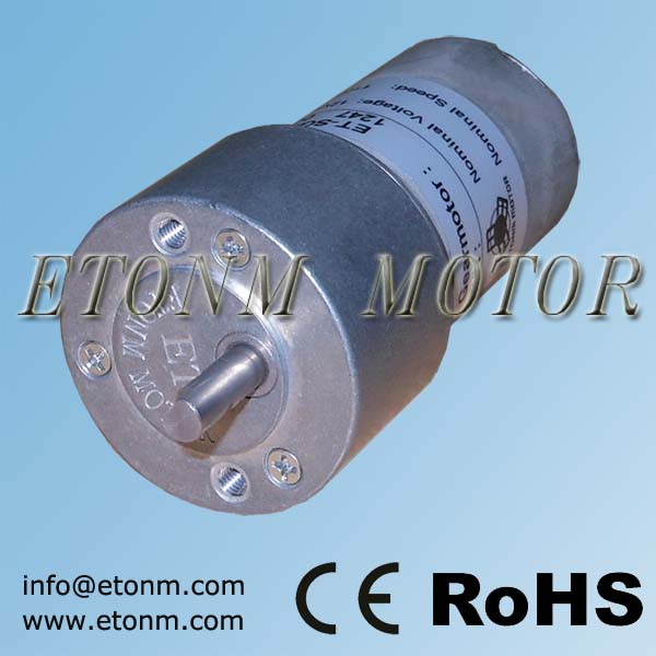 dc electric motors brushless with gear 24 volt