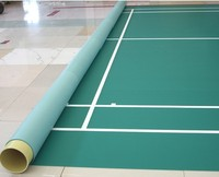 High quality Portable badminton court mat