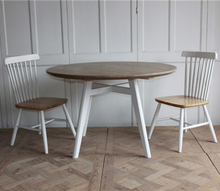 Reclaimed wood furniture good prices round dining table set