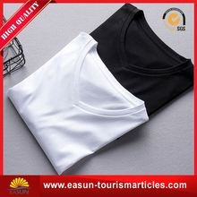 professional slim fit t shirt t-shirt collar men bulk wholesale white t shirt