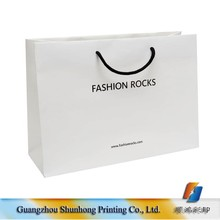 Customized color printing Paper Material cheap gift shopper bags