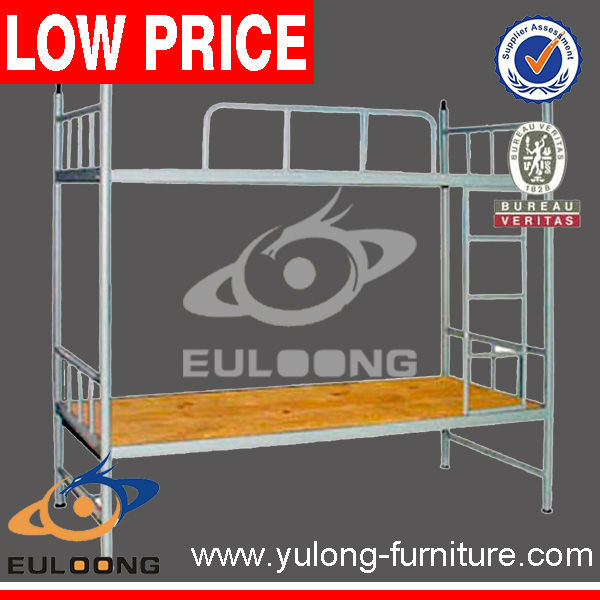 School used metal children double bunk bed/High quality and best price kids bunk bed