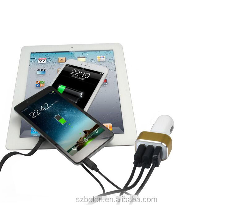 5.2A 3ports usb car charger-11
