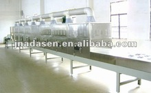 Tunnel fruit microwave dehydrating&sterilization machine