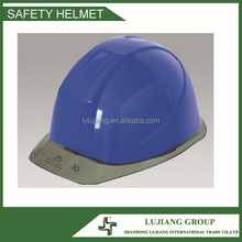 Best sell blue Cheapest Safety Helmet with Transparent Visor