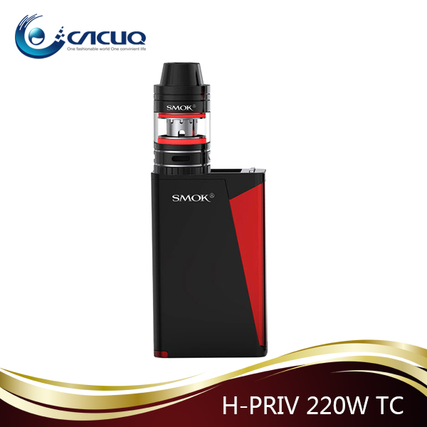 SMOK excellent quality 220w Hpriv Pro kit smok Hpriv mod with TFV8 big baby tank
