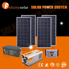 Guangzhou felicity complete 1.5kw solar power system with battery storage