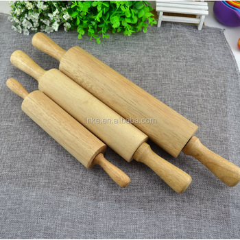 Rolling Pin with Wooden Handle
