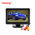 4.3 inch LCD Car Dashboard Color Monitor for Rearview Vehicle Backup Parking Cameras 4.3 inch monitor LCD