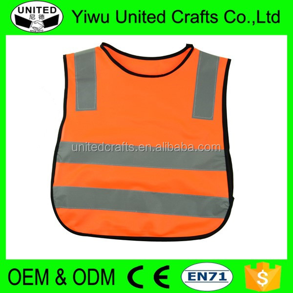 China manufacturer wholesale neon color reflective security clothes