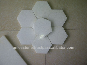 Vietnam polished white marble cut to size, cheap price