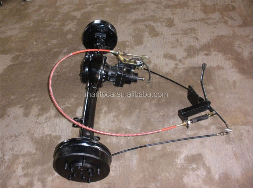 Tricycle spare parts rear axle booster oil break