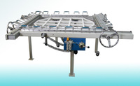 Vibrating screen stretching machine & vibrating sieve stretching machine