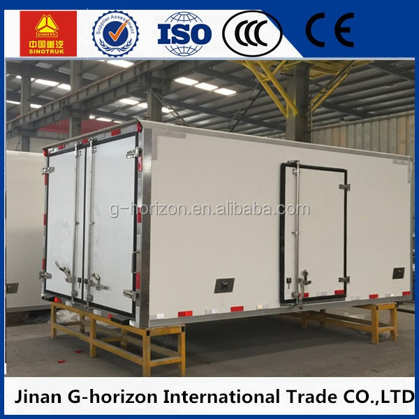 Hot selling refrigerated cargo van body for sale