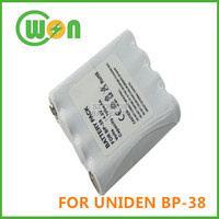 Replacement Battery for UNIDEN BP-38 GMR1838-2CK 2-Way 18 Mile 2 pack GMRS/FRS Radio Walkie Talkie Batteries