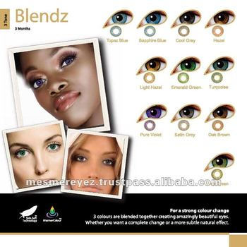 Color Cosmetic contact lenses