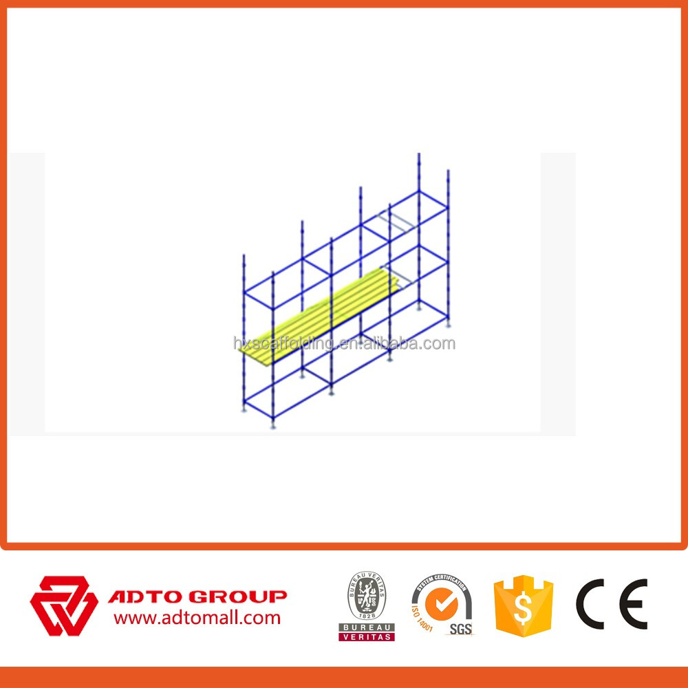 stainless steel Cuplock System Scaffolding /glass epoxy tubes /mesh netting for greenhouse