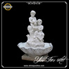 Outdoor Nature Stone Child Garden Water Fountain with Pots