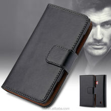 Flip Wallet Case For Nokia 520, Case Cover For Nokia Lumia 520, Genuine Leather Case