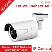 HD iDVR brand IP Camera with Motorized Zoom Lens 3-9mm IR 30m Poe with Alarm Audio Input SD Card Memory WDR Function