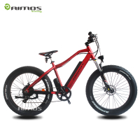 36v/48v 350w, 500w, TDE-08 Samsung battery outer 7 speed fat tire electric bike