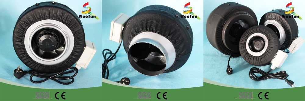 High Pressure Small Blowers : Small high pressure centrifugal fan blower