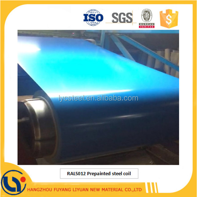 Prepainted Galvalume Steel Coil Color Coated Aluminium Zinc Painted Rolls PPGL Iron Coils With Factory Low Price