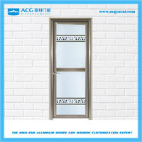 Fashionable shock absorber Scratch resistant balcony swing door