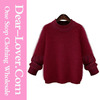 Custom 2016 modern Wine poncho women knit sweater wholesale