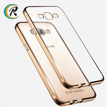 Hot sale rechargeable battery case cover for samsung galaxy j3 for Samsung A3 2016 crystal clear plating tpu case