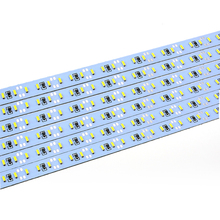 5730 led rigid bar 144 leds 1m double row warm white cool white 5630smd dc12v 30w double color led Rigid Strip bar
