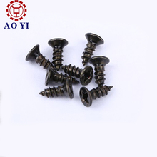 Black Anodize Small Automobiles Screws for Electronic Equipments