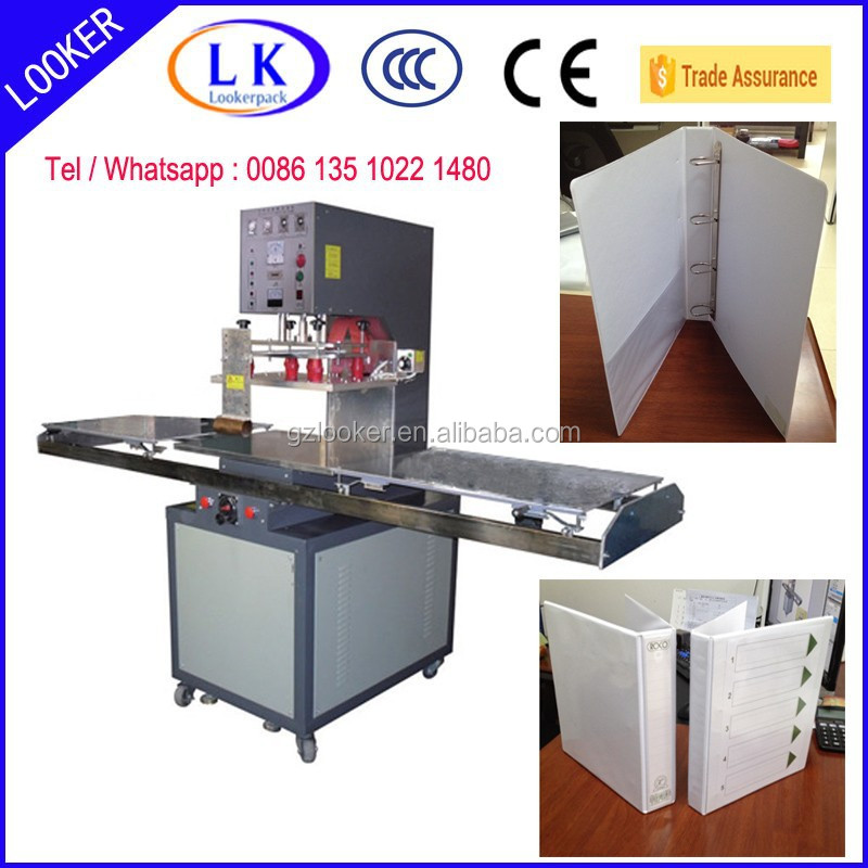 Plastic file folder High frequency welding machine