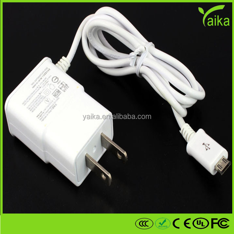 hot sale 5v / 1a eu usb wall charger, home charger for samsung wall charger with cable