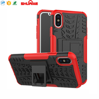 Heavy Duty Shock Proof Fully Protective Cover for iphone X