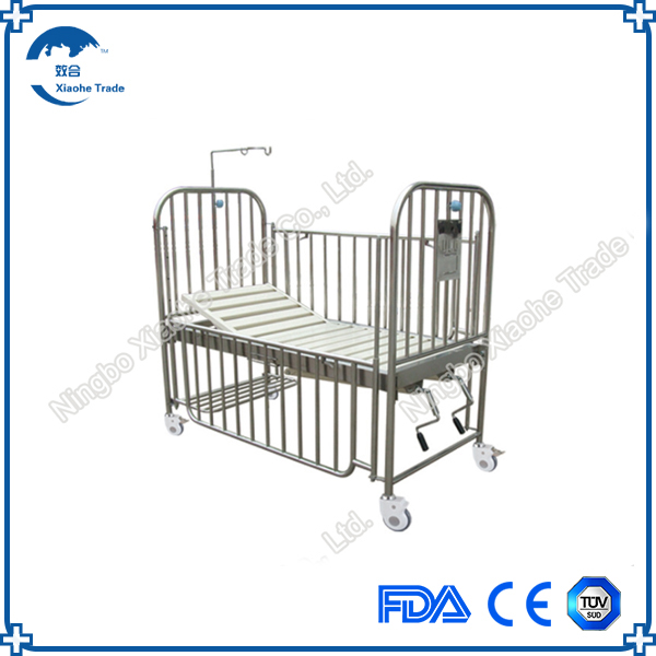 wholesales stainless steel pediatric hospital bed