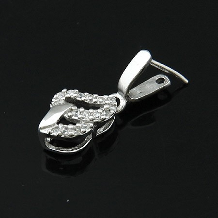 Wholesale Plated Rhodium 925 Sterling Silver Jewelry Findings