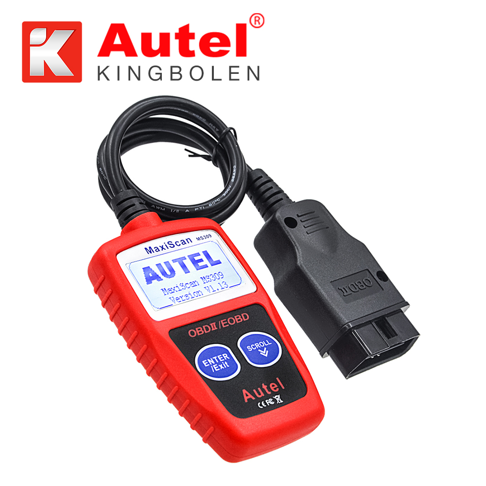 Autel MaxiScan MS309 CAN BUS OBD2 auto code readers car diagnostic scanner