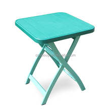 factory price plastic folding outdoor table