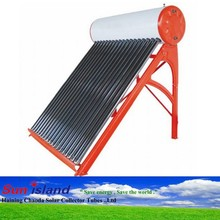 Heat Pipe Solar Water Heater System Project, portable solar space heater, water solar