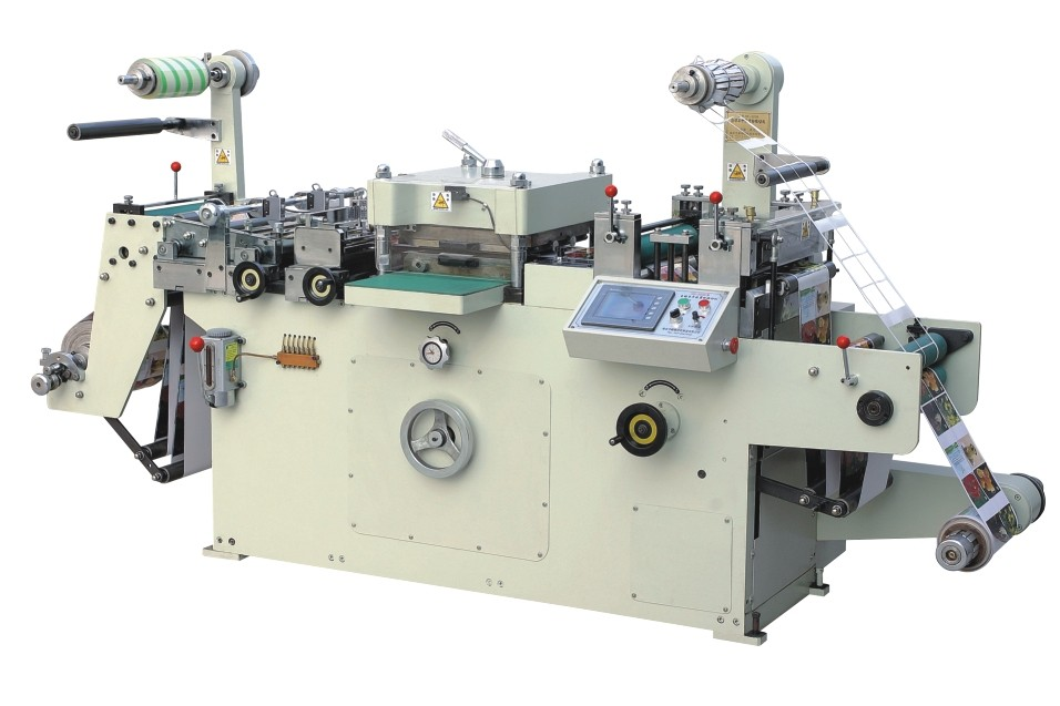 Y-MQ-420 high quality Automatic flate bed label paper Die cutting machine