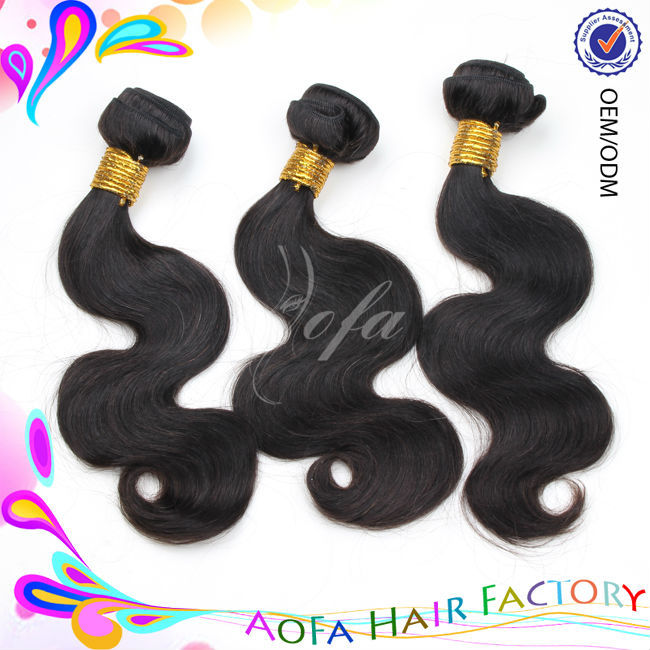 Best selling 100% virgin brazilian reliable hair extensions vendor in china