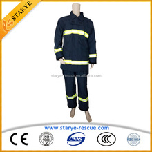 NFPA Standard Aramid IIIA Material Separted Type Anti Static Fireproof Suit