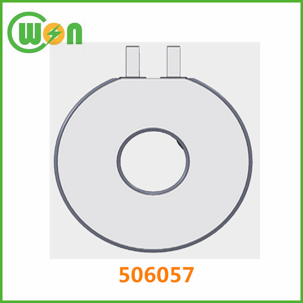High quality annular li-ion polymer battery 506057 3.7V 1400mAh high capacity special shape battery 506057