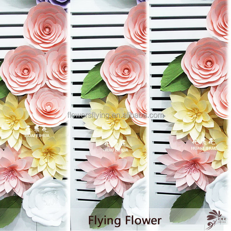 Professional manufacturer quality large paper foam wedding flowers
