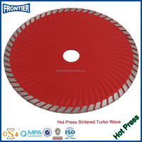 Sintered Hot Pressed Small cutting wheel making machine For Granite Sandstone