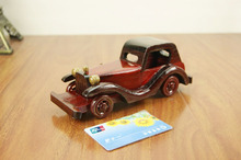 Vintage Style Wooden Repablicas Classic Cars 8 Inch