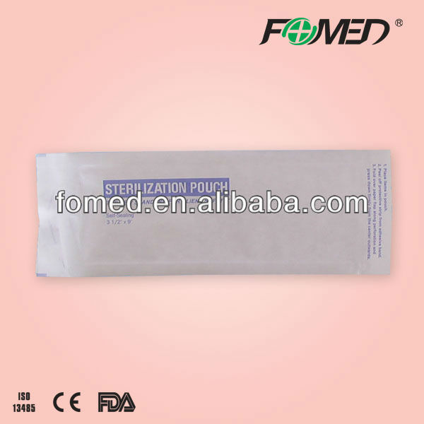 medical gamma sterilization pouches self sealing